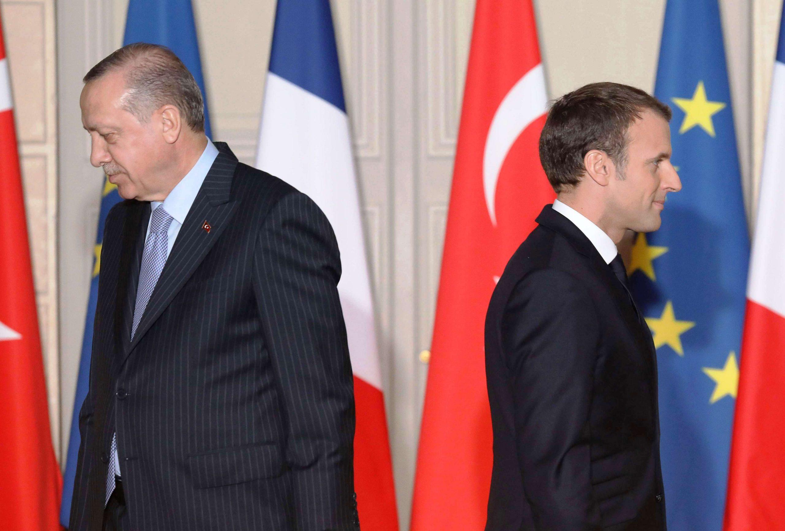 تركيا وفرنسا – سلسلة من القضايا الخلافية